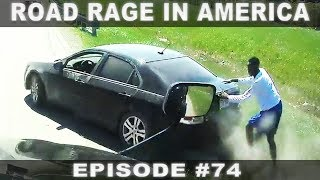 ROAD RAGE IN AMERICA #74 / BAD DRIVERS USA, CANADA / NORTH AMERICAN DRIVING FAILS  from RoadAccidentsWorld
