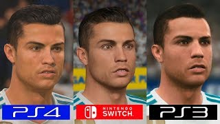 Fifa 18 | Switch VS PS4 VS PS3 | GRAPHICS COMPARISON | Comparativa