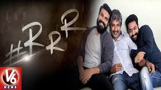 Jr.NTR-Ramcharan-Rajamouli's RRR | Multi Starrer Movies In Telugu | Nani Next Movie  Film News
