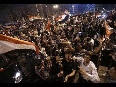 Egypt: El-Sissi wins election by landslide... مصر: جريدة سيسي يفوز الانتخابات ساحقا