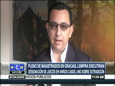 Pleno de magistrados se reúne en Gracias, Lempira para designación de jueces