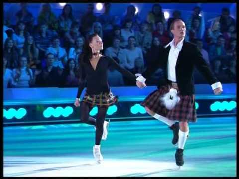 Чулпан Хаматова и Роман Костомаров - Ирландский танец