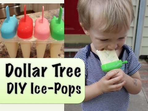 Dollar Tree DIY Popsicles   Recipe & Review