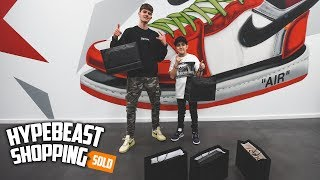 Taking My BEST FAN Hypebeast Shopping!