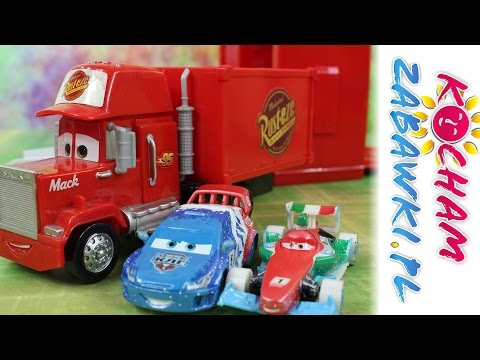 Skoki na Torze - Hot Wheels & Kinetic Sand & Disney Cars - Bajki dla dzieci