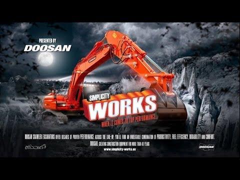 Doosan Excavator Teaser Simplicity Works Campaign