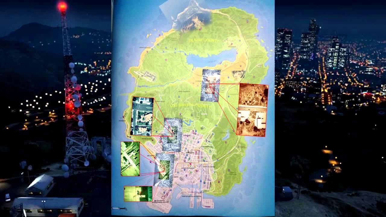 Gta 5 Map Leak Grand Theft Auto V - G...