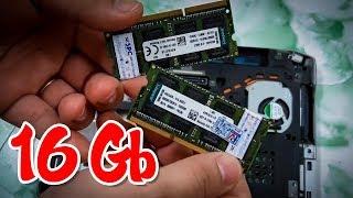NGHỊCH DẠI gắn 16Gb RAM vào LAPTOP CÙI BẮP và nhận cái kết...