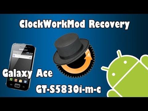 Cómo instalar CWM (ClockWorkMod) recovery 5.0.2.6 para Galaxy Ace (GT-S5830 i-m-c) (Español)