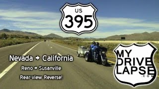 Drive US 395: Reno to Susanville, California
