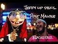 Jeffy lip syncs-post Malone (rockstar)