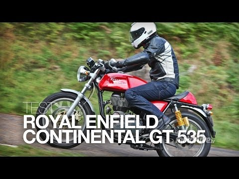 TEST | Royal Enfield Continental GT, le rétro-néo