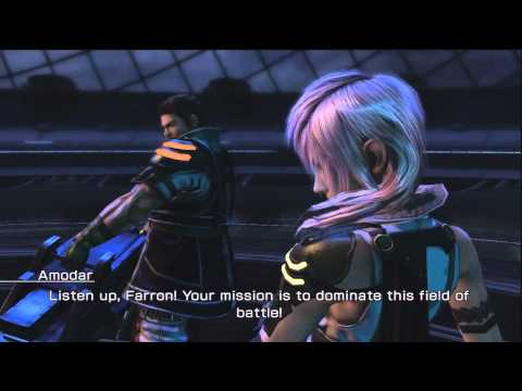 FFXIII-2 - Lightning & Amodar DLC Battle