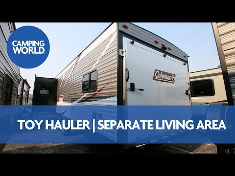 2018 Coleman 300TQ   Toy Hauler Travel Trailer - RV Review: Camping World