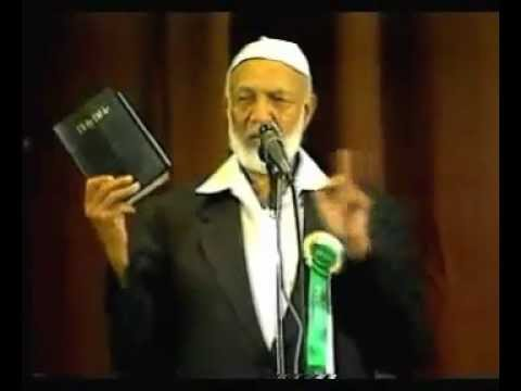 Ahmed Deedat - Christianity Judaism Or Islam - English Full - Action Town Hall, London video