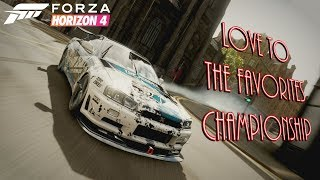 Forza Horizon 4 - Love To The Favorites Championship