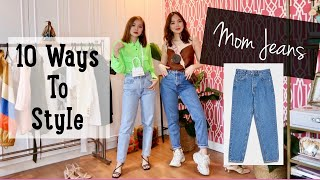 How To Style Your Mom Jeans (10 Ways)