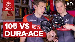 Shimano 105 Vs Shimano Dura-Ace | What's The Difference?