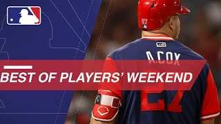 Watch the best moments from Players' Weekend