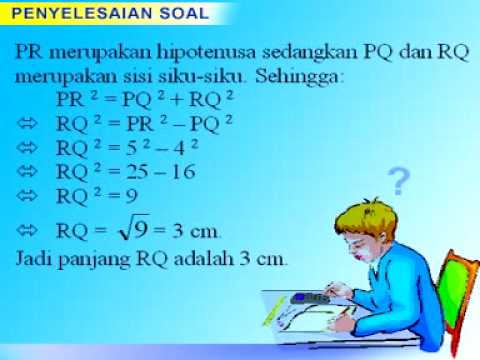 VCD Pembelajaran Matematika - Teorema Pythagoras