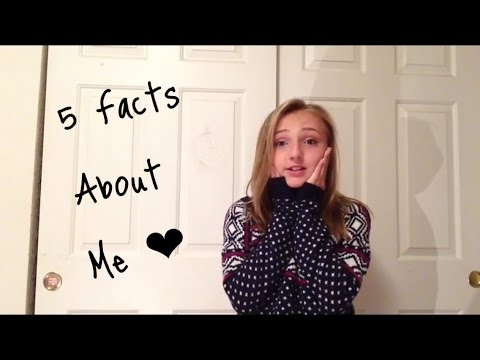 5 Facts About Me Tag Brooke Ostrom
