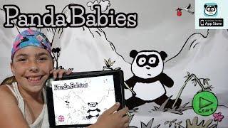Panda Babies Playhome App - Gameplay - Great App for Kids