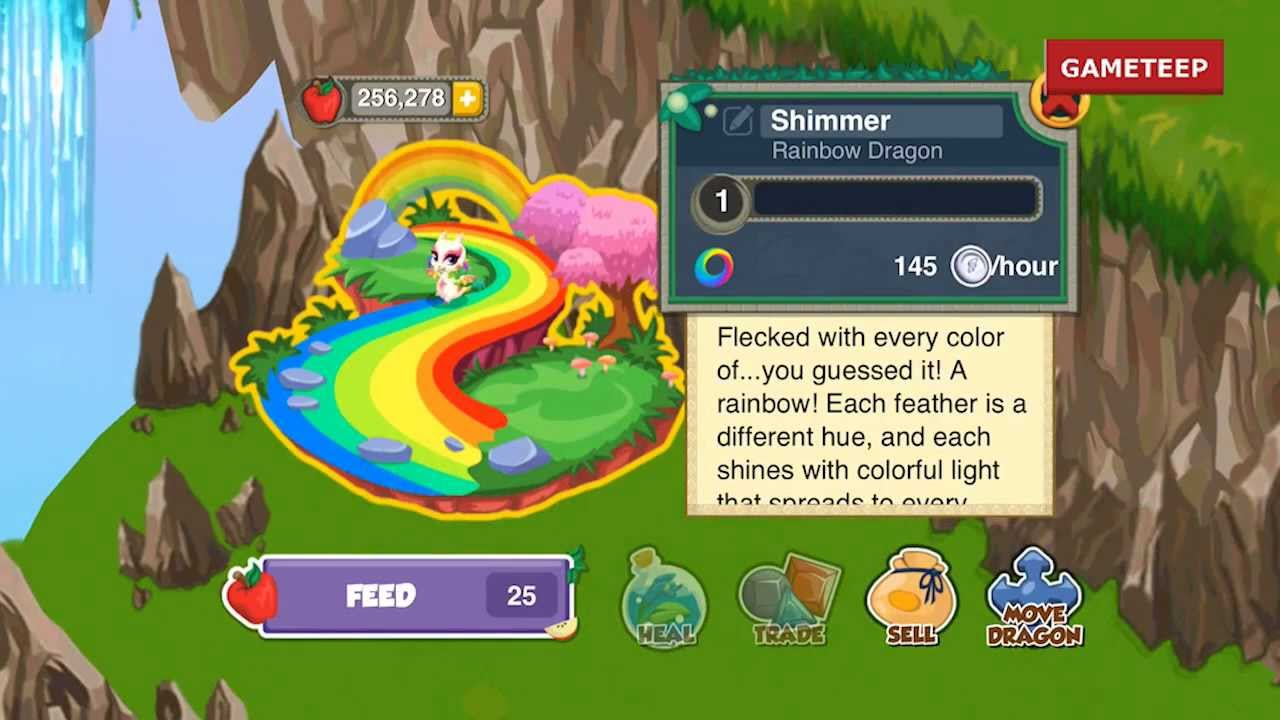 How to Breed Rainbow Dragon in