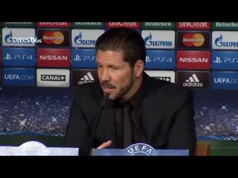 """Champions / Atlético de Madrid: Diego Pablo Simeone: """"Me voy orgulloso de mis jugadores"""""""