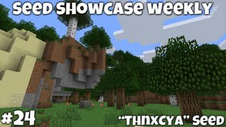 "Minecraft 1.4.7 || ""ThnxCya"" Seed Showcase 
