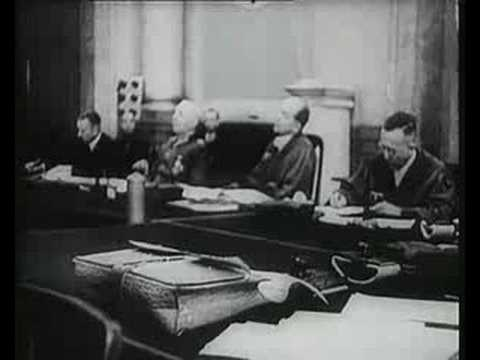 Volksgerichtshof (Nazi Peoples Court) - NEW FOOTAGE - Part 5