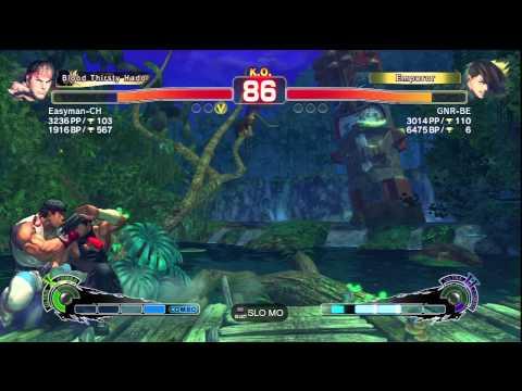 Ryu(Easyman-CH) VS Yang(GNR-BE)