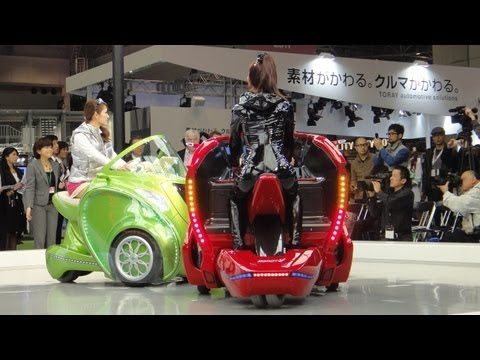 KOBOT City EV Concept Vehicle Transforms With The Push Of A Button #DigInfo