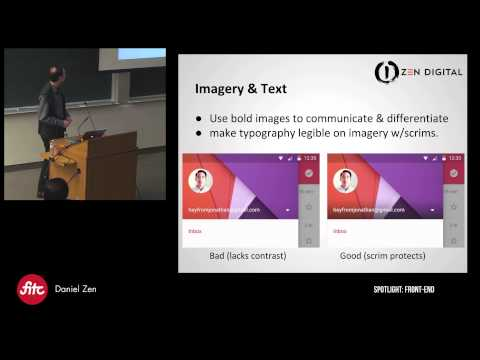 Material Design in practice with AngularJS