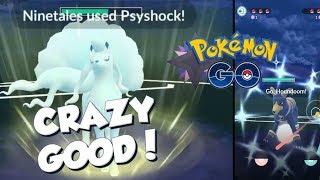 I CHANGED MY TEAM! ALOLAN NINETALES IS CRAZY GOOD! Pokemon GO Twilight Cup PvP Great League Battles