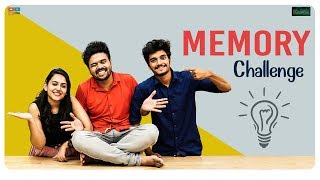 Memory Challenge Ft.Bhavya Natasha & Harshith Reddy || Kaasko || Tamada Media