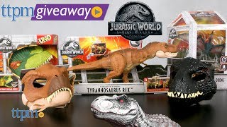 Win Jurassic World Fallen Kingdom Toys on #TTPMLIVE