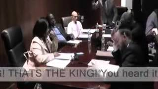 VIDEO: Haitian Spring Valley Mayor Demeza Delhomme says I AM THE KING OF THE VILLAGE