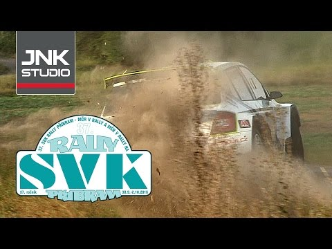 37. SVK Rally Příbram 2016 (crash & action)