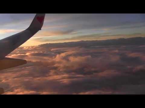 スカイマークSKY307便羽田→鹿児島 Skymark Airlines HND→KOJ  via Mt. Fuji