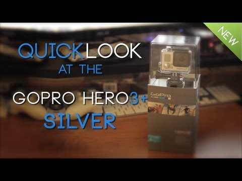 Quicklook GoPro Hero3+ SILVER