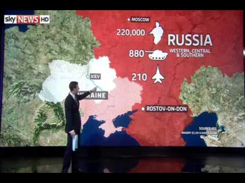 The Rundown on Ukraine vs. Russia's Military Power