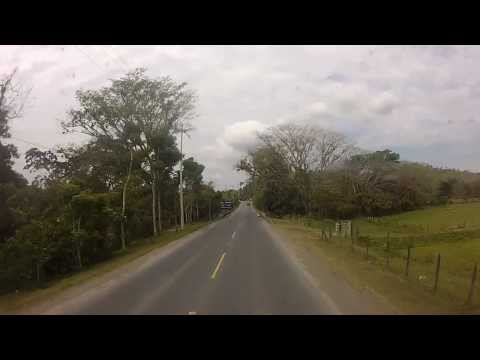 Road from Puerto Barrios to Guatemala city March 2013