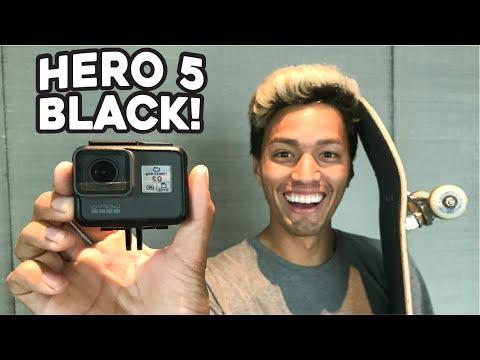 MY NEW 4K VLOGGING CAMERA!  *HERO 5 BLACK!!*