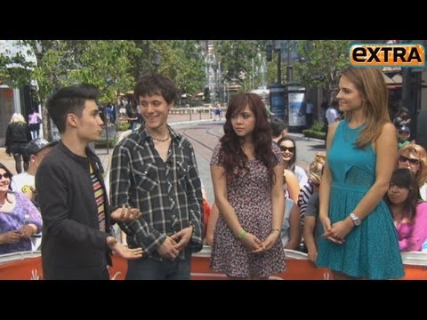 Alyssa Bernal, Kurt Hugo Schneider And Sam Tsui's Interview At The Grove video