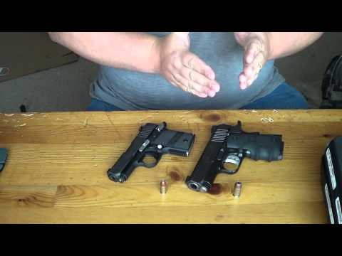 Sig p938 vs Kimber Ultra Carry II: Size & Feature Comparison