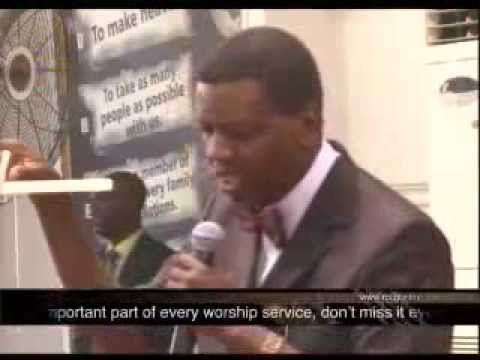 THANKSGIVING SERVICE with Pastor E  A  Adeboye
