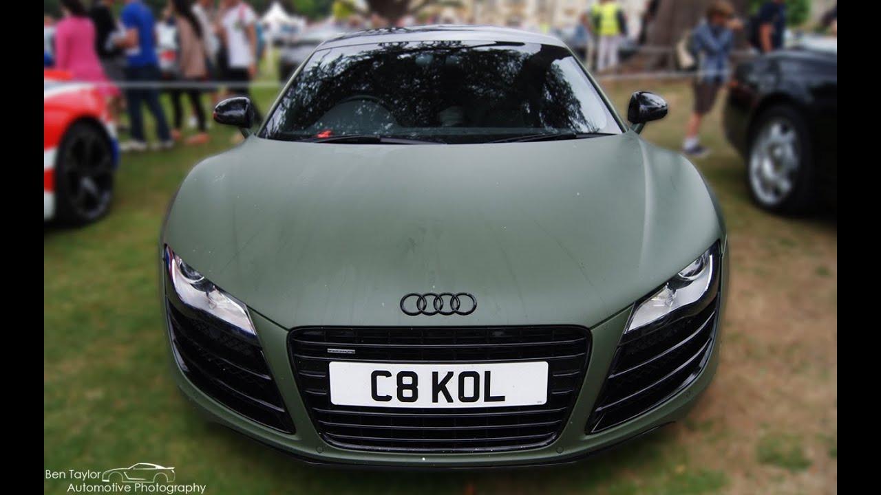 Matte Green Audi R8 V8 Youtube
