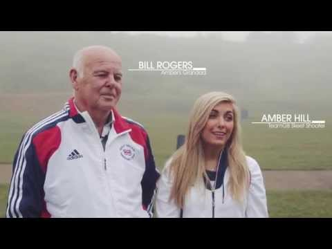 Grandad Inspired Olympic Dream with Amber Hill