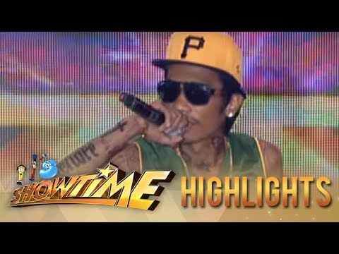 IT'S SHOWTIME Kalokalike Face 2 Level Up : WIZ KHALIFA