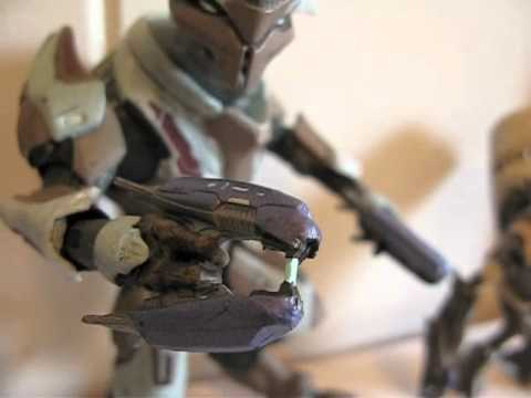 McFarlane Halo Reach Elite and Grunt review